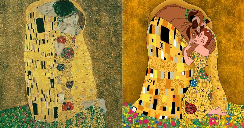 დისნეის გმირები ცნობილი მხატვრების შედევრებში  - ფოტოები