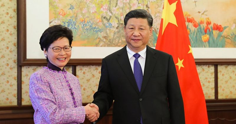 ჰონგ-კონგის ლიდერი: ახალი კანონპროექტების ოპონენტები ჰონგ-კონგელების მტრები არიან
