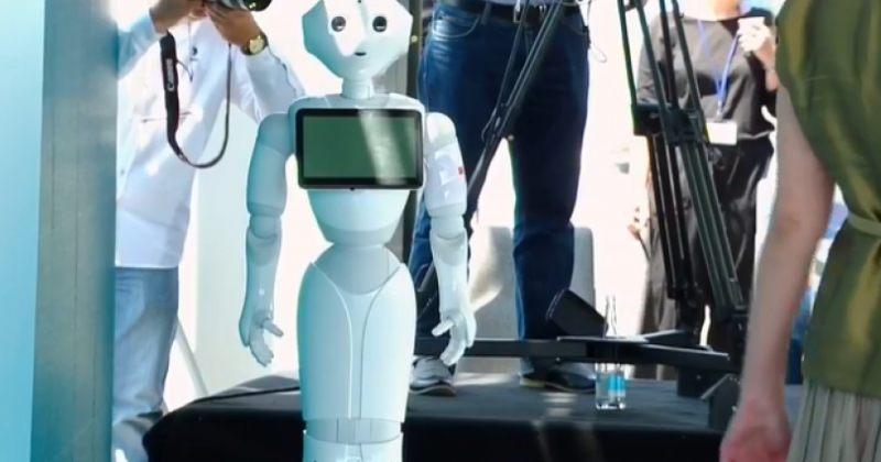 """ტიკარაძე: რობოტი """"პეპერი"""" კორონავირუსის დამარცხებაში დაგვეხმარება"""