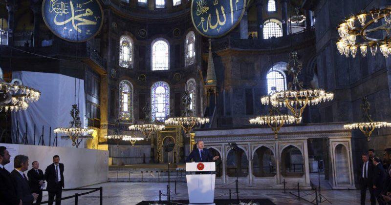 თურქეთის სასამართლო აია-სოფიას საკითხზე გადაწყვეტილებას, სავარაუდოდ, ხვალ გამოაცხადებს