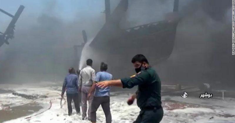 ირანის პორტში ხანძრის შედეგად 7 გემი დაზიანდა