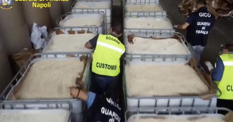 იტალიის პოლიციამ სირიიდან შესული €1 მილიარდის 14 ტონა ამფეტამინი ამოიღო