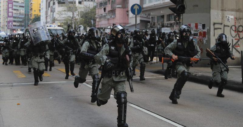 უშიშროების ახალი კანონის საფუძველზე ჰონგ-კონგის პოლიციას უფლებები ეზრდება