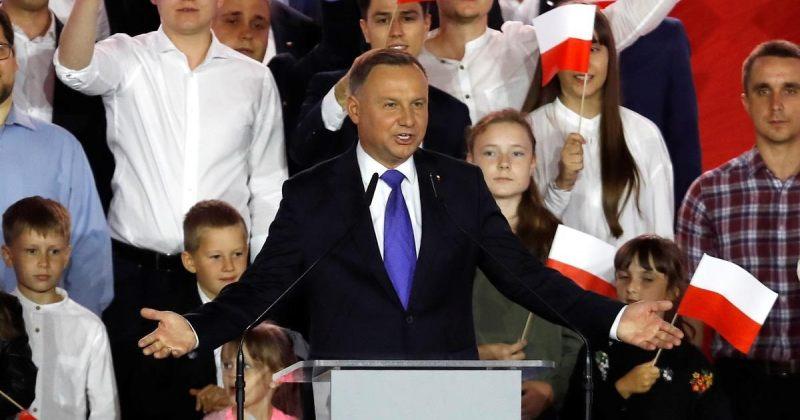 პოლონეთის საპრეზიდენტო არჩევნებში ანდჟეი დუდამ გაიმარჯვა - დათვლილია ხმათა 99.97%