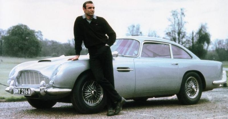 ASTON MARTIN ჯეიმს ბონდის ძველ მანქანას განმეორებით გამოუშვებს