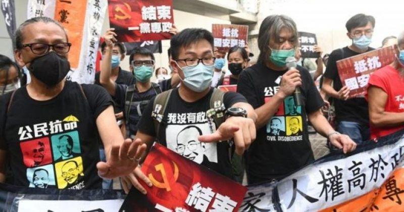 ჰონგ-კონგში უშიშროების ახალი კანონის საფუძველზე პირველი მომიტინგე დააკავეს