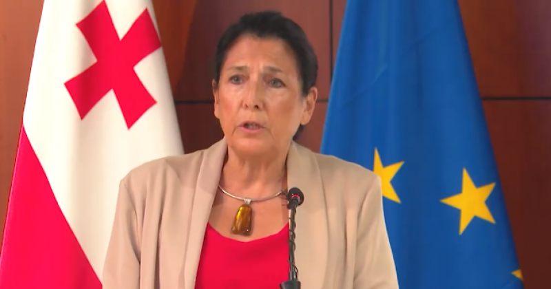 პრეზიდენტი სანაიაზე: კატეგორიულად მიუღებელია ნებისმიერი ფორმისა და სახის ძალადობა!