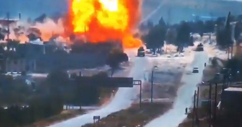 სირიაში დანაღმული მანქანა აფეთქდა, დაშავდა, სულ მცირე, 3 რუსი სამხედრო [Video]
