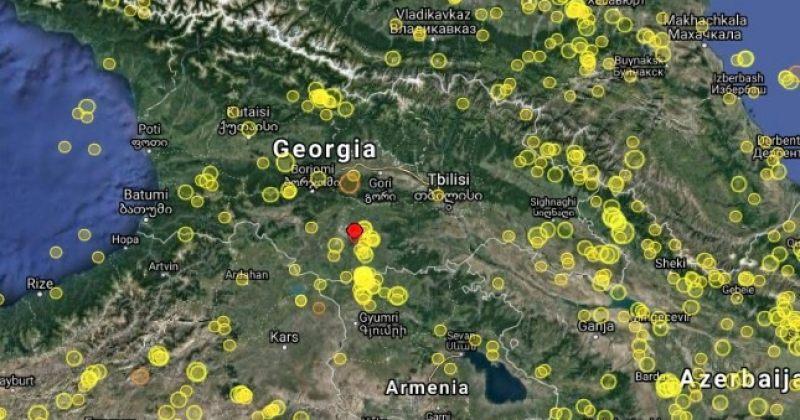 საქართველოში 3.6 მაგნიტუდის მიწისძვრა მოხდა
