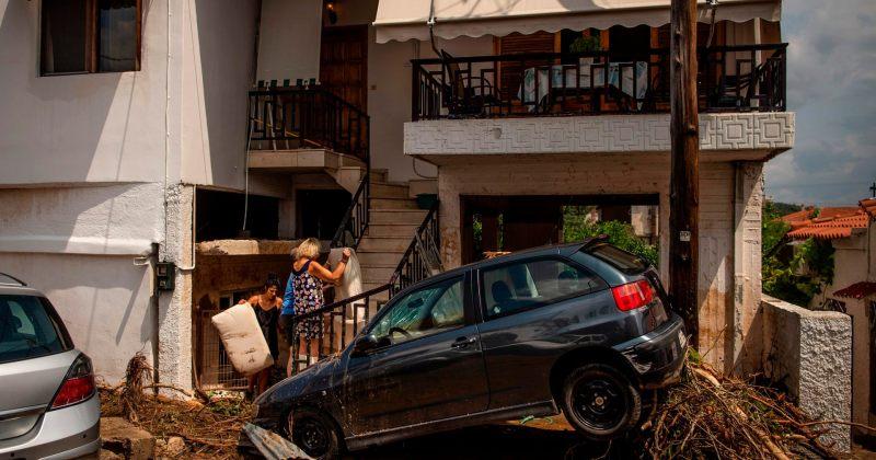 საბერძნეთში წყალდიდობას 7 ადამიანის სიცოცხლე ემსხვერპლა
