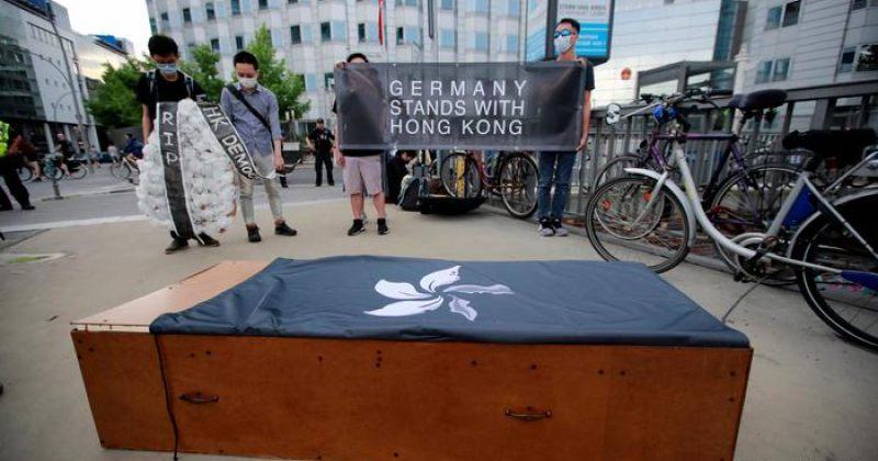 ჩინეთი გერმანიის მიერ ჰონგ-კონგის ექსტრადიციის შეთანხმების გაწყვეტას აპროტესტებს