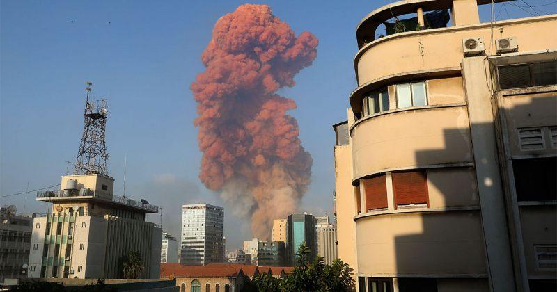 ლიბანის დედაქალაქ ბეირუთში მასშტაბური აფეთქება მოხდა [Video]