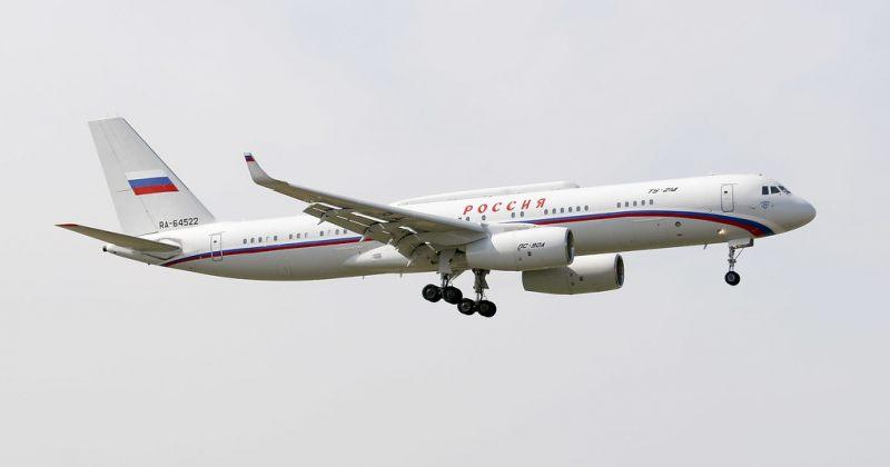 რუსეთის სამთავრობო თვითმფრინავი მინსკში ჩაფრინდა და უკან მალევე გამოფრინდა