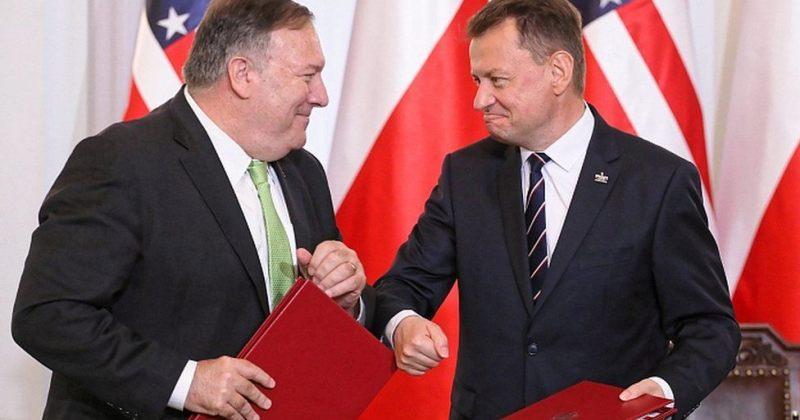 აშშ-მ და პოლონეთმა თავდაცვის თანამშრომლობაზე შეთანხმებას ხელი მოაწერეს