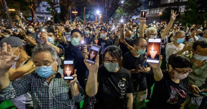 ჰონგ-კონგში 25 აქტივისტს თიენანმენის ჟლეტის პროტესტში მონაწილეობისთვის ბრალი წაუყენეს