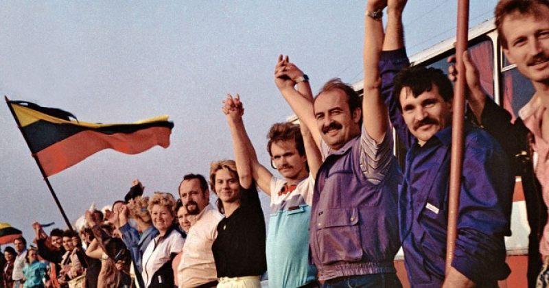ბალტიის გზის 31-ე წლისთავზე ლიტვა ბელარუსის საზღვრამდე თავისუფლების გზის ჯაჭვს შექმნის