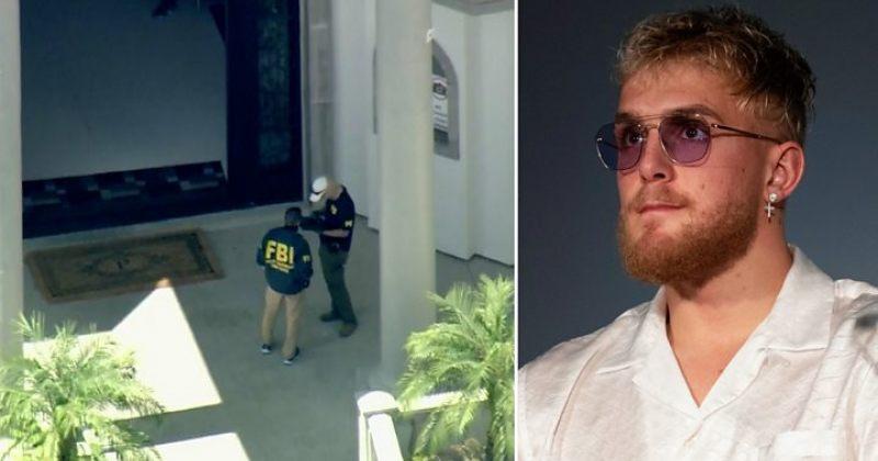 ცნობილი იუთუბერის, ჯეიკ პოლის სახლში FBI-ს რაზმი შევიდა