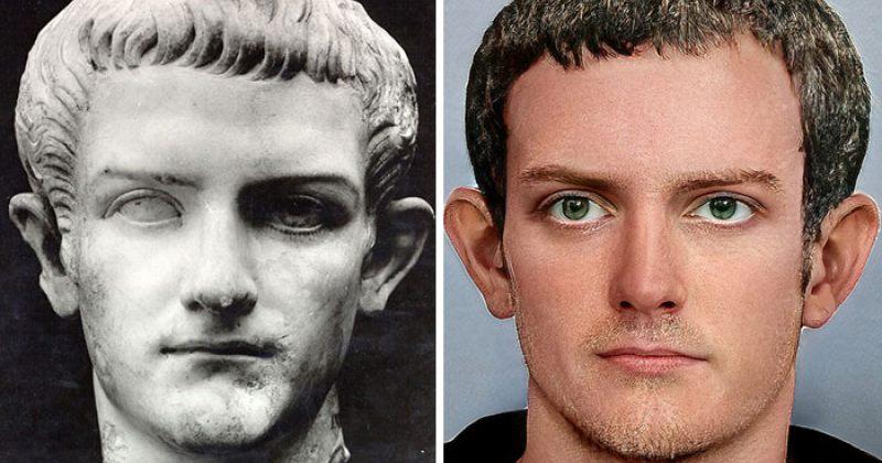 როგორ გამოიყურებოდნენ რომაელი იმპერატორები - ფოტოები