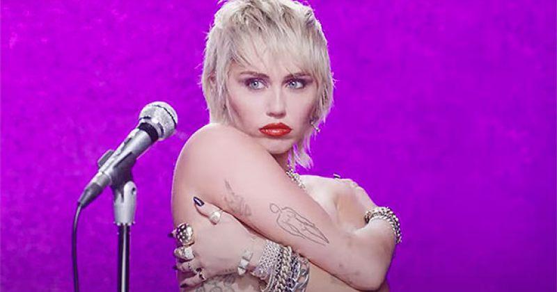 მაილი საირუსმა ახალი სიმღერა MIDNIGHT SKY გამოუშვა