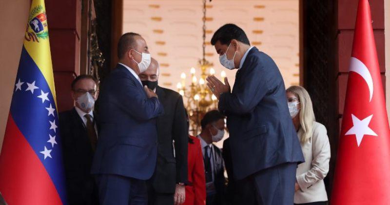 თურქეთის საგარეო მინისტრი მადუროს შეხვდა, თურქეთმა ვენესუელას სამედიცინო დახმარება გადასცა