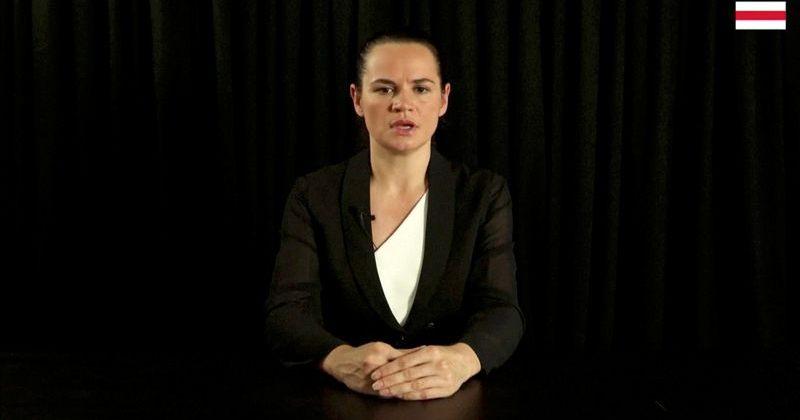 ტიხანოვსკაია ახალ ვიდეომიმართვას ავრცელებს და ხალხს  გაფიცვების გაგრძელებისკენ მოუწოდებს