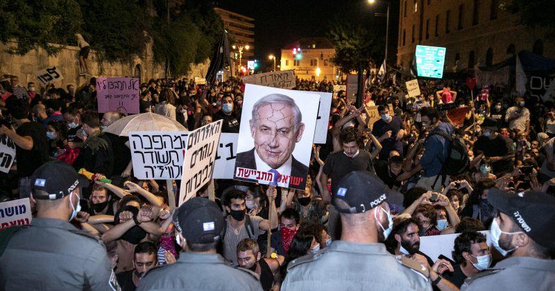 ისრაელში ბენიამინ ნეთანიაჰუს გადადგომის მოთხოვნით აქციები გრძელდება