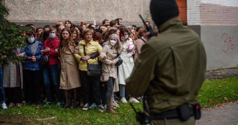 ბელარუსის პოლიციამ 8 სექტემბერს აქციებზე 121 ადამიანი დააკავა