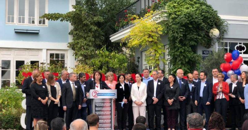 ევროპულმა საქართველომ პირობითი საარჩევნო სია წარადგინა – ნახეთ პარტიის საარჩევნო გუნდი