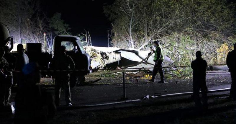 უკრაინაში სამხედრო თვითმფრინავი ჩამოვარდა, დაღუპულია 22 პირი