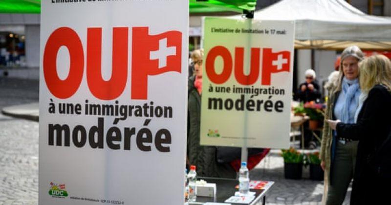 შვეიცარიის რეფერენდუმზე EU-სთან თავისუფალი გადაადგილების შეთანხმების შეჩერებას უყრიან კენჭს