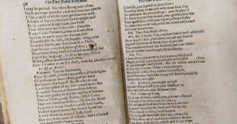 ესპანეთში 1634 წელს გამოცემული უილიამ შექსპირის პიესა იპოვეს