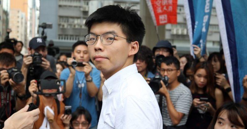 ჰონგ-კონგში ცნობილი ოპოზიციონერი ჯოშუა ვონგი დააკავეს