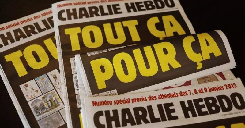პარიზში დანით თავდასხმისთვის დაკავებული ეჭვმიტანილის სამიზნე Charlie Hebdo იყო