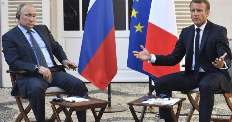 მაკრონი რუსეთს: ნავალნის საქმეს ნათელი უნდა მოეფინოს, წითელი ხაზების გადაკვეთას არ დავუშვებთ
