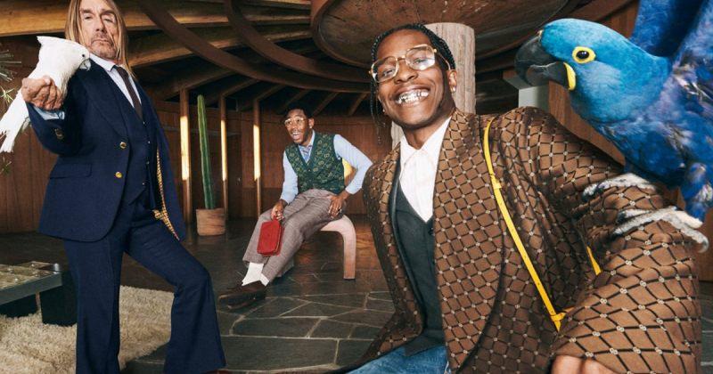 A$AP ROCKY, IGGY POP და TYLER, THE CREATOR - გუჩის ახალი რეკლამა