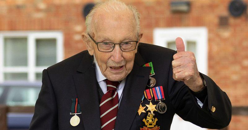 ასი წლის პენსიონერის, ტომ მურის შესახებ ფილმს გადაიღებენ