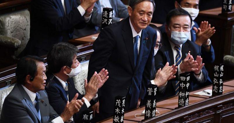 იაპონიის ახალი პრემიერმინისტრი იოშიჰიდე სუგა გახდა