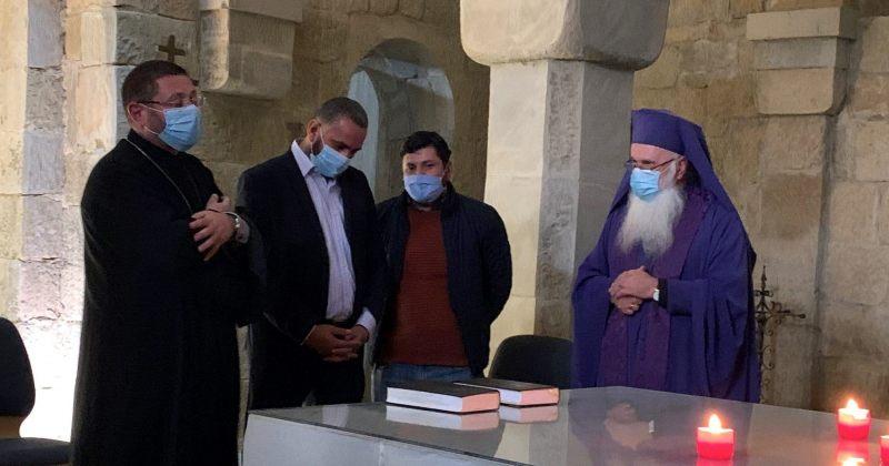 სომეხი და აზერბაიჯანელი სასულიერო პირების ერთობლივი ლოცვა თბილისში