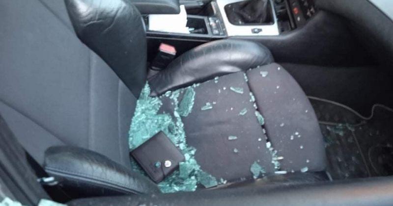 ქუთაისში ევროპული საქართველოს წევრის მანქანა დააზიანეს