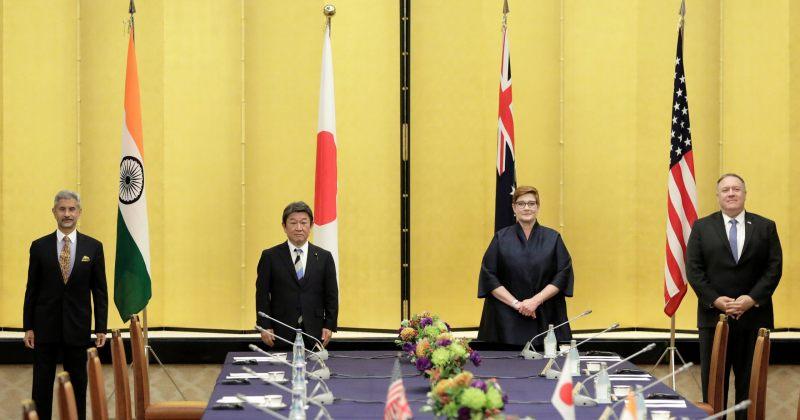 პომპეო იაპონიაში მოკავშირე Quad-ის ჯგუფის წევრების მინისტრებს შეხვდა