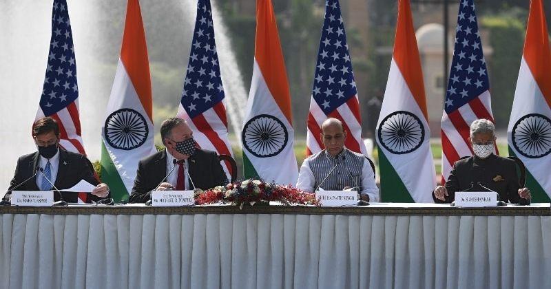 პომპეო: აშშ და ინდოეთი უნდა ფოკუსირდეს ჩინეთისგან მომავალ საფრთხეზე