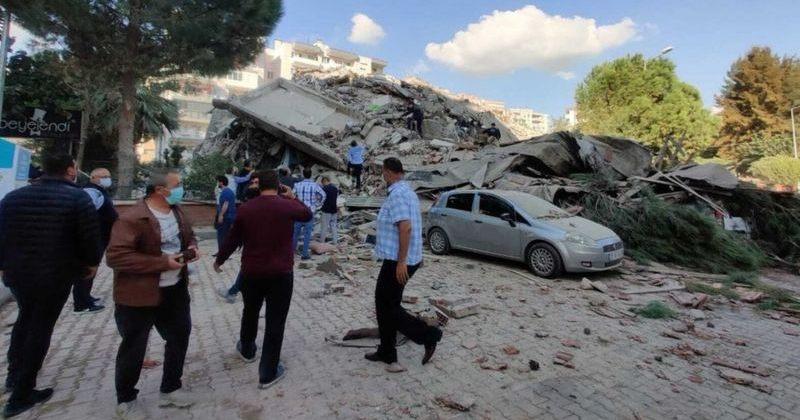 თურქეთის იზმირის პროვინციაში 7.0 მაგნიტუდის მიწისძვრას ნგრევა მოჰყვა