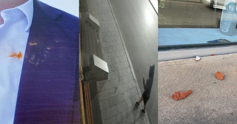 ქუთაისში ევროპული საქართველოს ოფისს აგურები დაუშინეს [video]