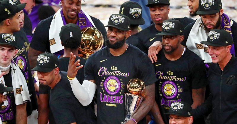 ლოს-ანჯელეს ლეიკერსი NBA-ის ჩემპიონი მეჩვიდმეტედ გახდა
