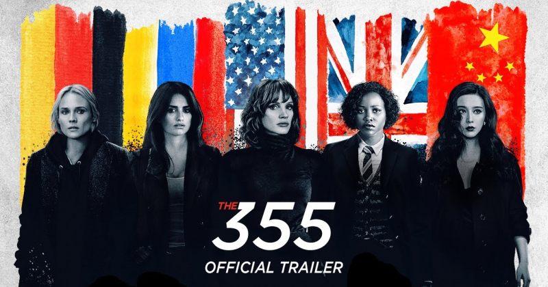 მძაფრსიუჟეტიანი ჯაშუშური ფილმის 355-ის ტრეილერი გამოვიდა