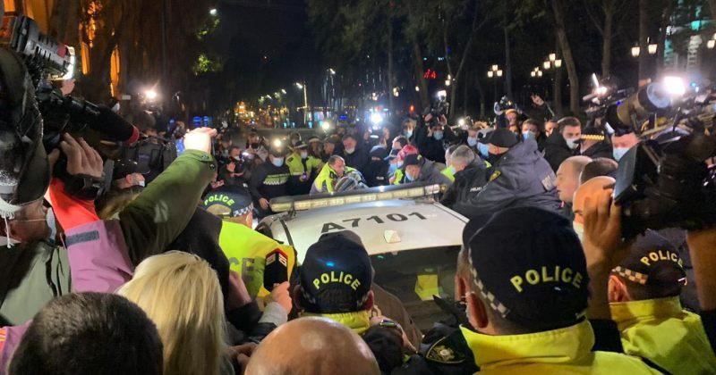 მარიკაშვილი: მჟავანაძის გადმოცემით, მასზე პოლიციის ეზოში პოლიციელებმა ფიზიკურად იძალადეს