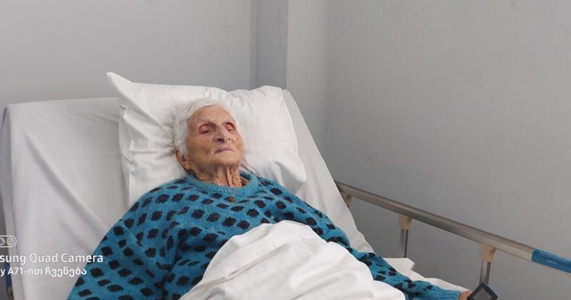 ქუთაისის ინფექციურ საავადმყოფოში 102 წლის პაციენტმა COVID 19 დაამარცხა