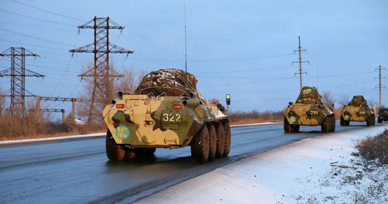 RIA: რუსეთის თავდაცვის სამინისტრომ ყარაბაღში რუსი სამშვიდობოების განლაგების რუკები გაავრცელა
