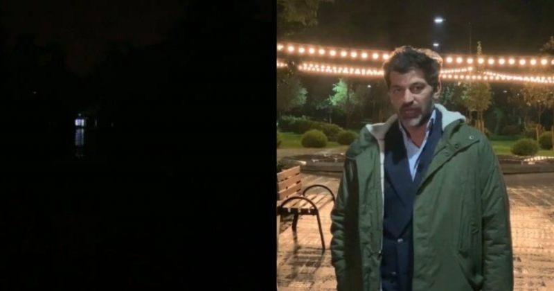 """""""მოგწონთ სიბნელე?"""" – კახა კალაძის Live ჩაბნელებული პარკიდან"""