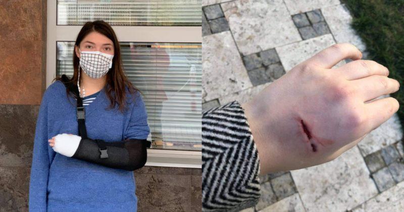 სირცხვილია: არველაძეს ხელი აქვს ნაღრძობი, მას პოლიციელისადმი დაუმორჩილებლობას ედავებიან